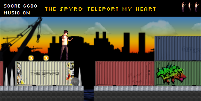 The Spyro - Teleport My Heart the game
